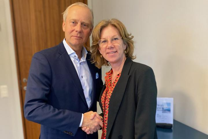 Tove Christiansson and Mats Dörring